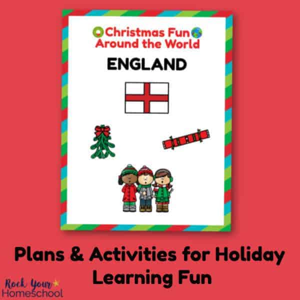 Enjoy holiday learning fun with your kids using Christmas Fun in England plans & activities.