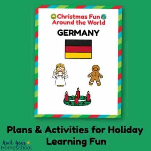 Enjoy holiday learning fun with your kids using these plans & activities for Christmas Fun in Germany.