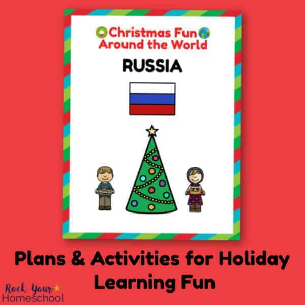 You can enjoy holiday learning fun with your kids using these Christmas Fun in Russia plans & activities.