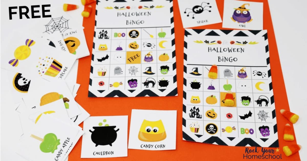 This free printable Halloween Bingo Game for Kids is an awesome way to boost your holiday celebration.