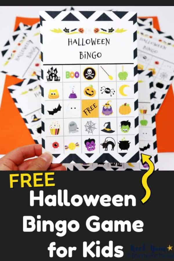 image relating to 25 Printable Halloween Bingo Cards referred to as Totally free Halloween Bingo Activity for Pleasurable with Small children - Rock Your