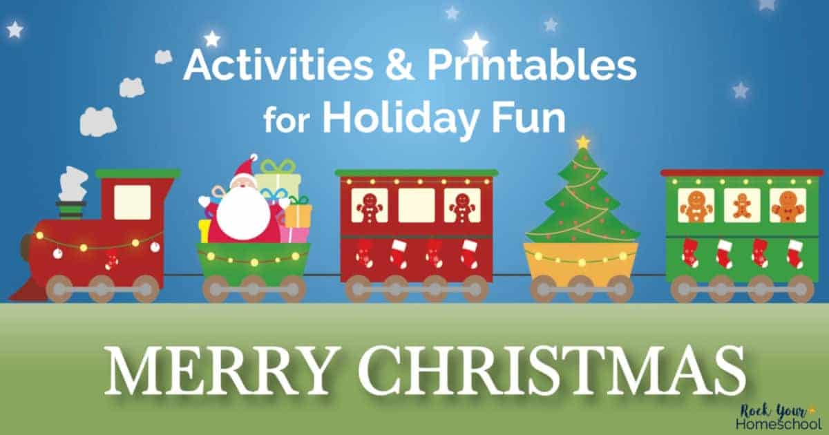 These free printables & activities are amazing ways to enjoy Christmas Fun with kids.
