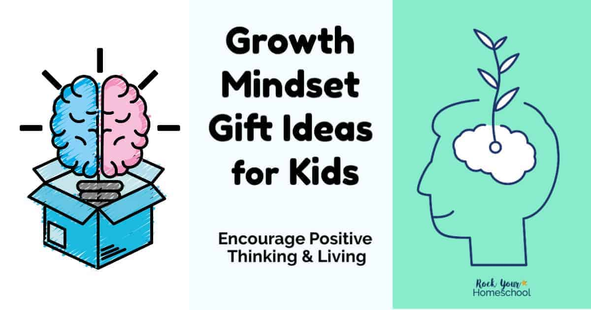 Get great growth mindset gift ideas for kids that promote positive thinking & living skills.