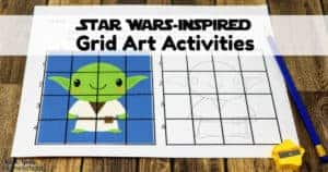 Have a blast with your Star Wars fans using these free printable grid art activities.