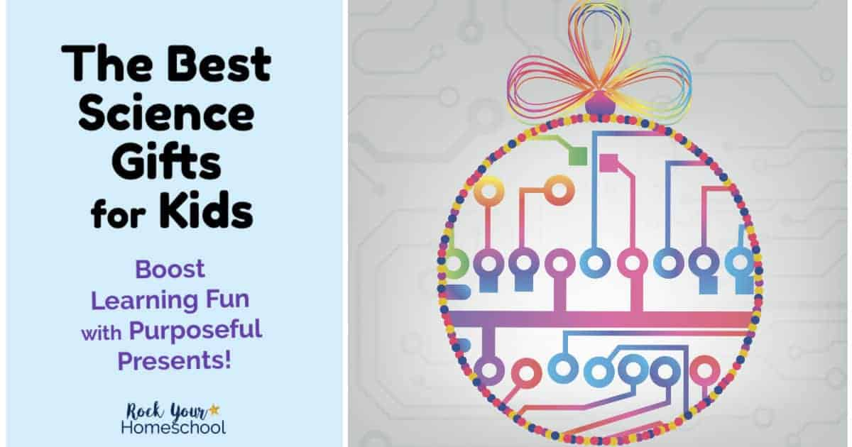 Give the gift of science & learning fun! Your kids will love these purposeful presents.