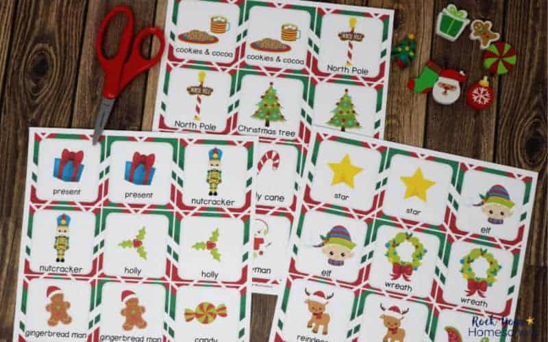 These Christmas Memory Game cards are excellent ways to enjoy easy holiday fun.