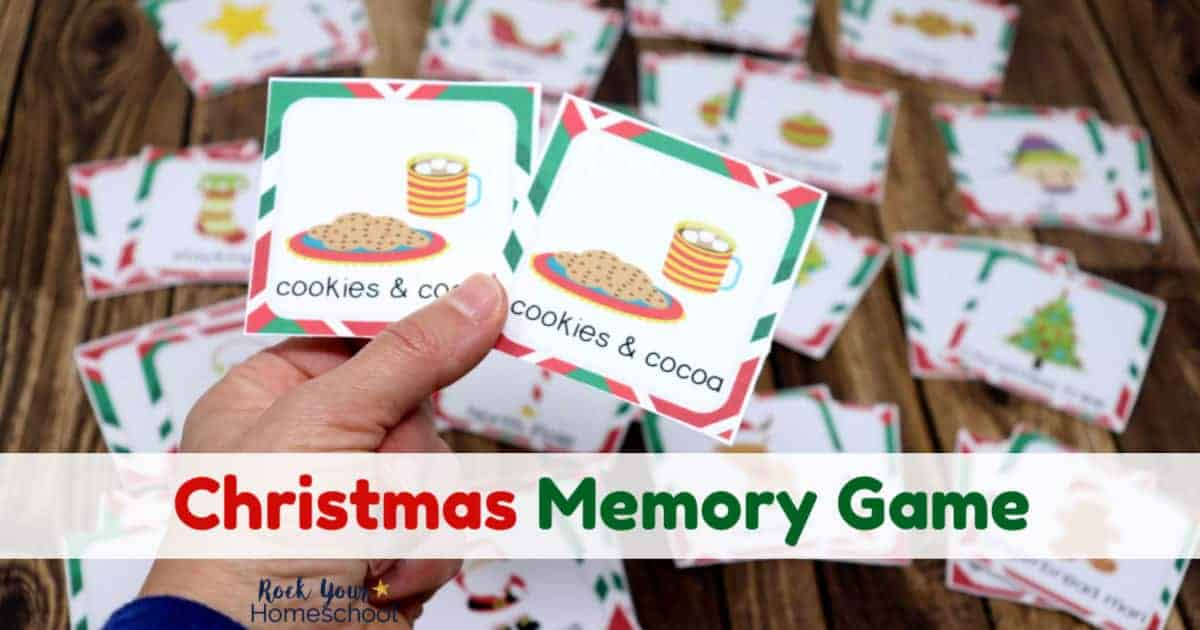 This simple Christmas Memory Game for Kids will bring you tons of interactive fun this holiday season.