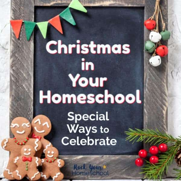 Discover amazing ways to celebrate Christmas in your homeschool. Fantastic ideas, resources, & tips to help you thrive this holiday season.