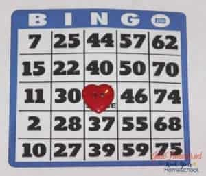 Enjoy a wonderful game of bingo as you celebrate December Fun days with kids.
