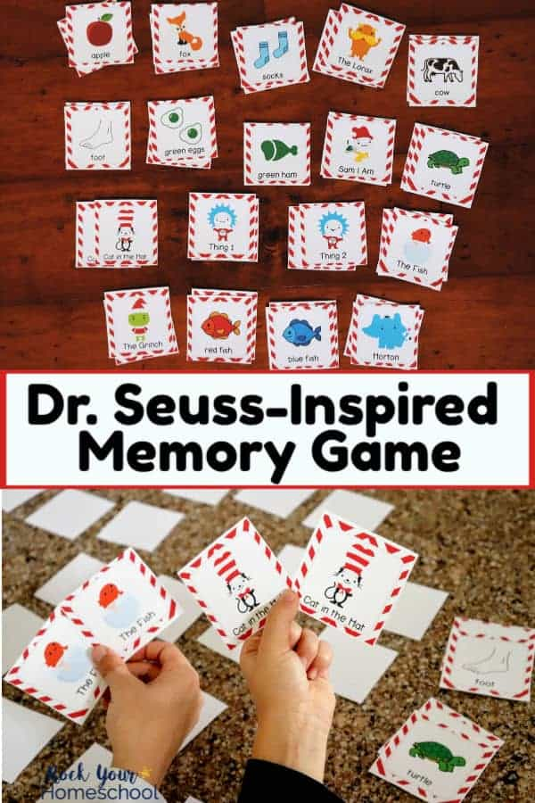 Super Fun Dr. Seuss-Inspired Memory Game for Kids