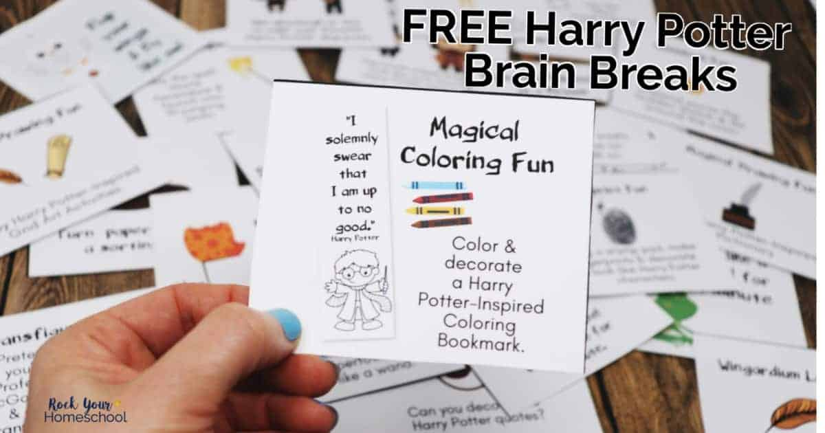 Enjoy magical learning fun with these 24 free Harry Potter-Inspired brain breaks.
