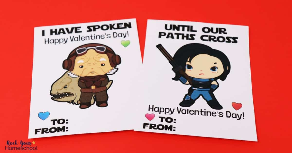 Give your Star Wars fans a special way to celebrate the holiday with these 8 free Mandalorian Valentine's Day cards.