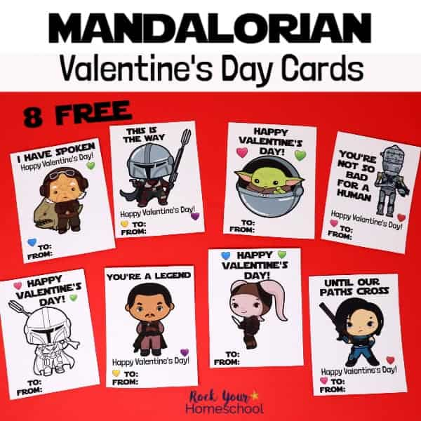 These 8 free Mandalorain Valentine's Day Cards are fantastic ways to have a stellar holiday.