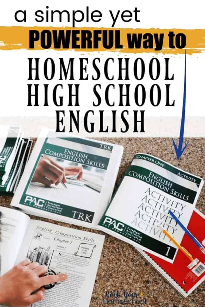 A Simple Yet Powerful Way to Homeschool High School English