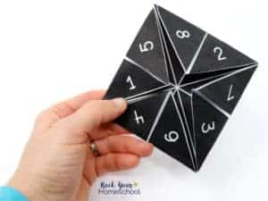 Enjoy a wonderful hands-on solar system activity with this free cootie catcher & more.