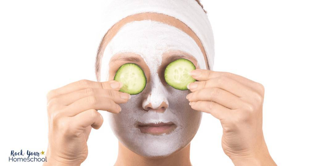 A face mask is a simple way to experience self-care when you need it.