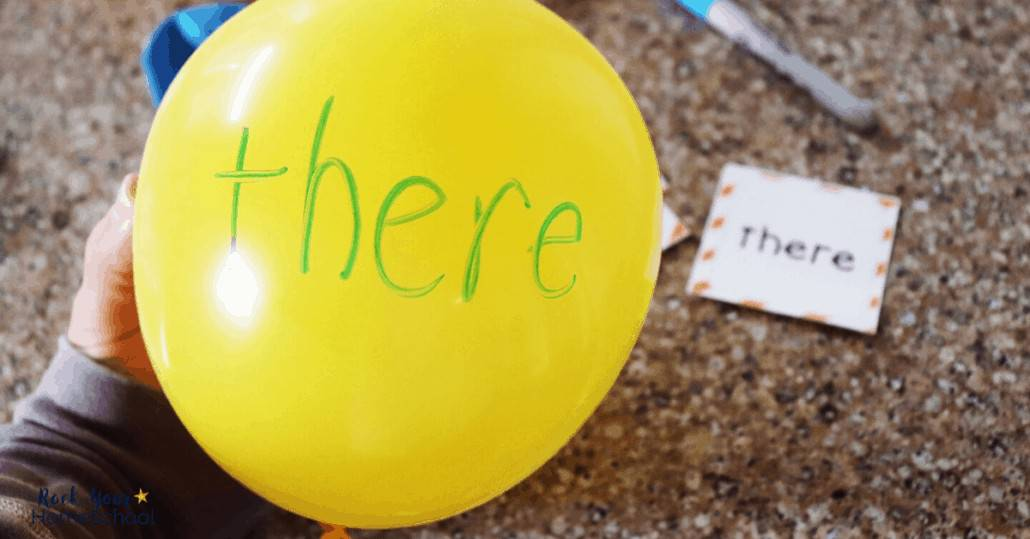 Have awesome reading fun at home with your kids with these awesome balloon activities.