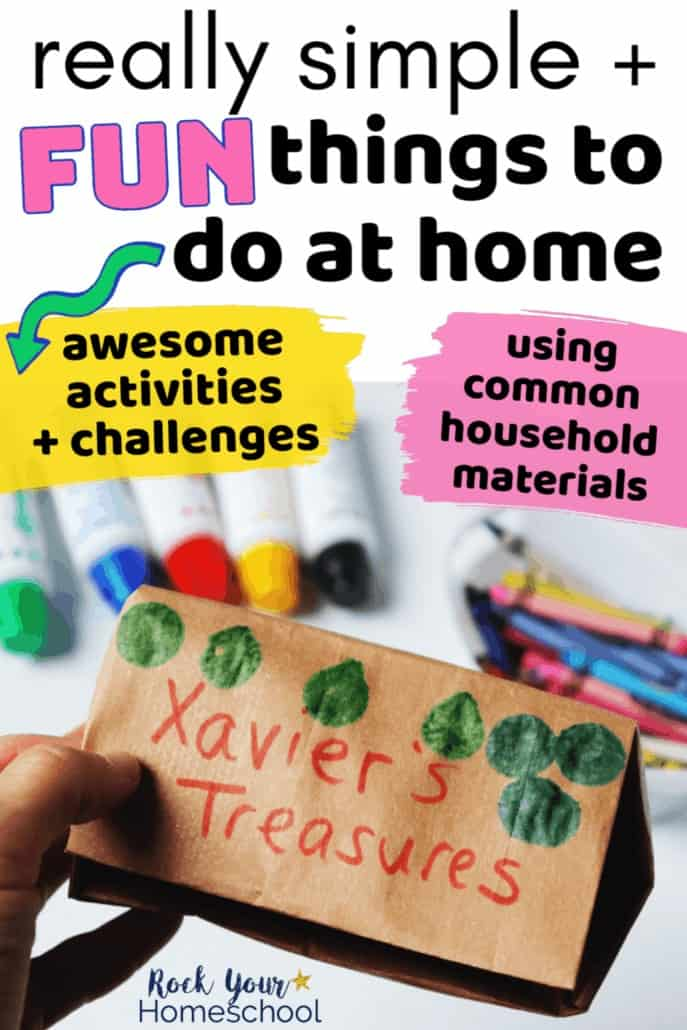 Really Simple & Fun Things to Do At Home with Kids
