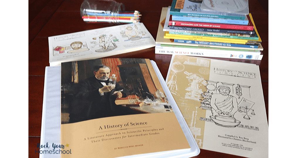 This History of Science pack by Beautiful Feet Books is an amazing way to use curiosity-driven learning with your middle schooler.