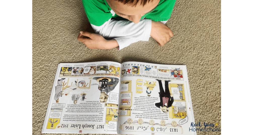 Your child will be introduced to a variety of inventors and scientists through the literature-rich curriculum from Beautiful Feet Books.