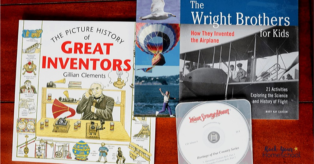 Your child can read and listen as they learn about great scientists and inventors in A History of Science pack from Beautiful Feet Books.