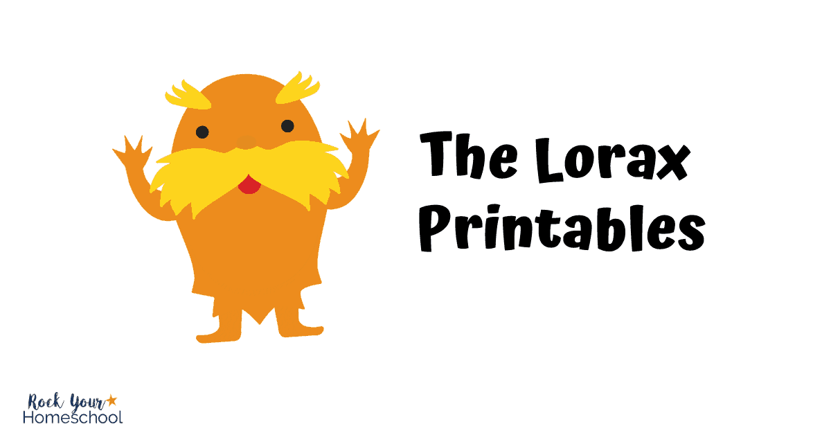 Check out this list of The Lorax activities, printables, & more.