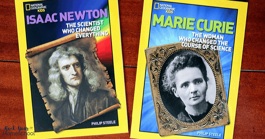 Your child will love these books about scientists and inventors as part of A History of Science pack from Beautiful Feet Books.