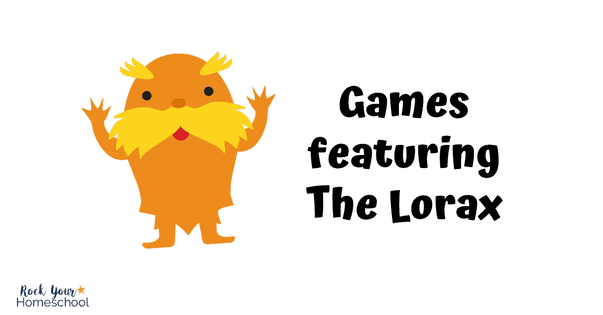 Get great ideas & resources for enjoy games featuring The Lorax.