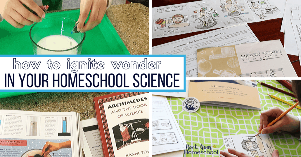 You can ignite wonder in your homeschool middle school science with Beautiful Feet Books.
