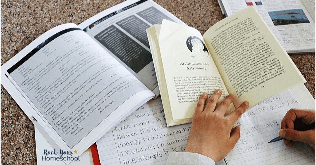 Your child will learn how to maintain a science portfolio when using A History of Science pack with Beautiful Feet Books.