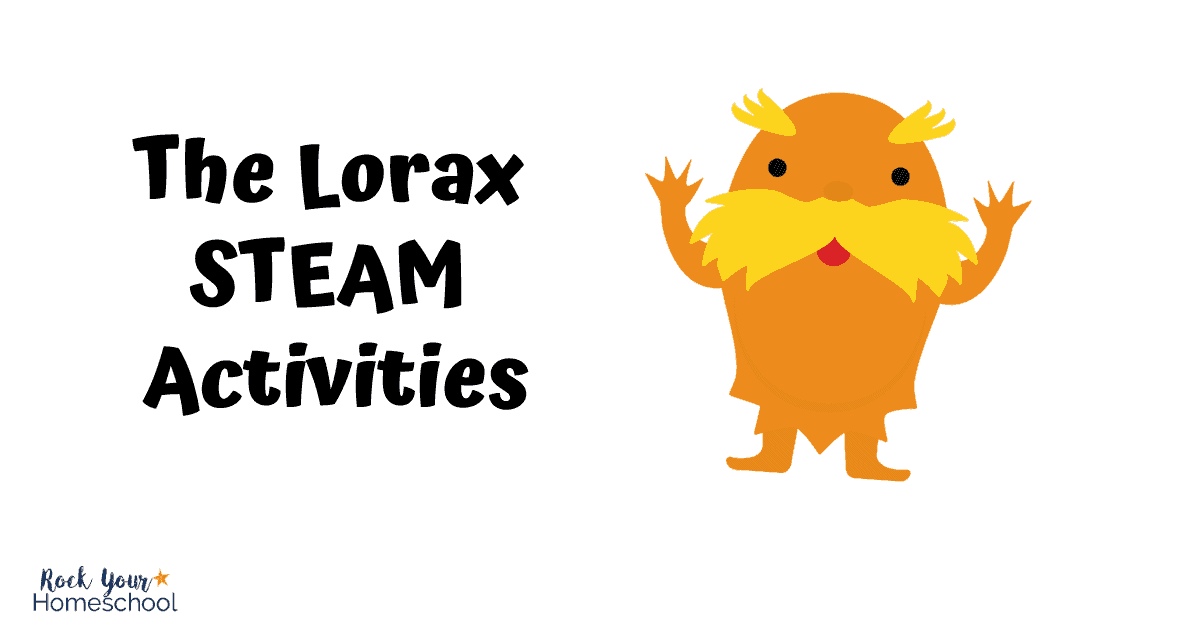 This outstanding list of The Lorax activities, printables, & more includes STEAM activities to enjoy with your kids.