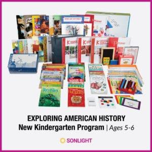Easily enrich your Kindergarten homeschool with Sonlight's Exploring American History.