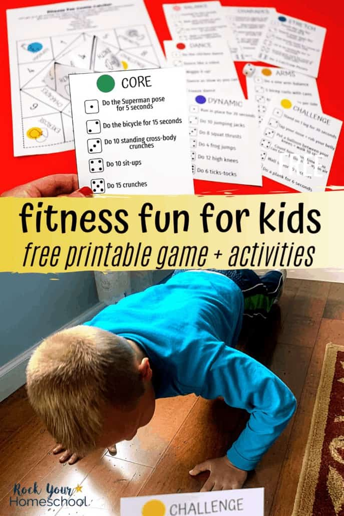 Unique Way to Easily Enjoy Fitness Fun for Kids