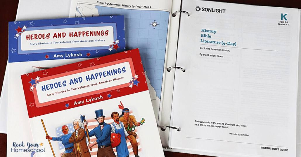 Sonlight's Exploring American History includes an amazing Instructor's Guide that makes it easy-to-use and open-and-go.