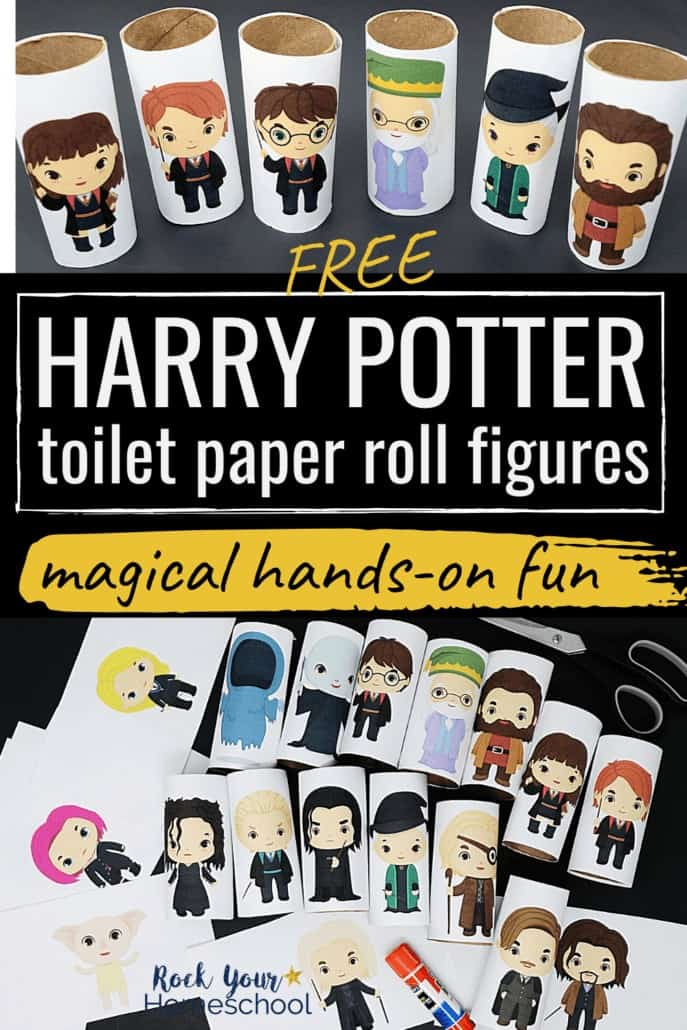 Free Harry Potter Toilet Paper Roll Figures for Magical Fun