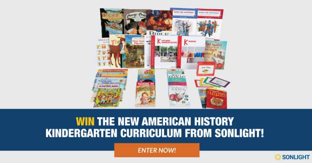 Enter to win this amazing Exploring American History giveaway hosted by Sonlight.