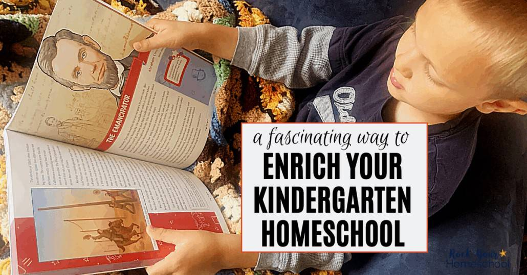 Find out how you can easily add enrichment to your Kindergarten homeschool.