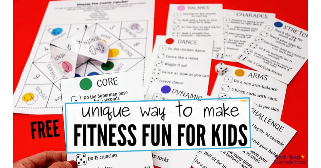 Check out this unique way to make fitness fun for kids. Have a blast with these activities & challenges.