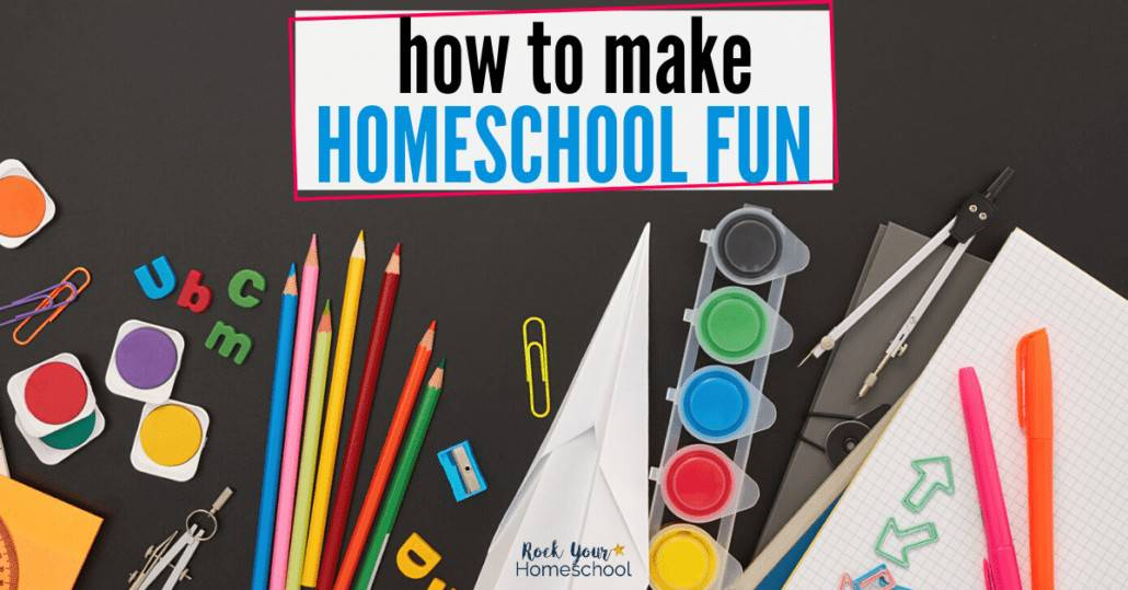 You can make homeschool fun. Get tips & ideas from awesome homeschoolers, like you.
