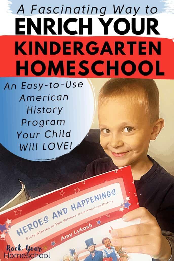 A Fascinating Way to Enrich Your Kindergarten Homeschool