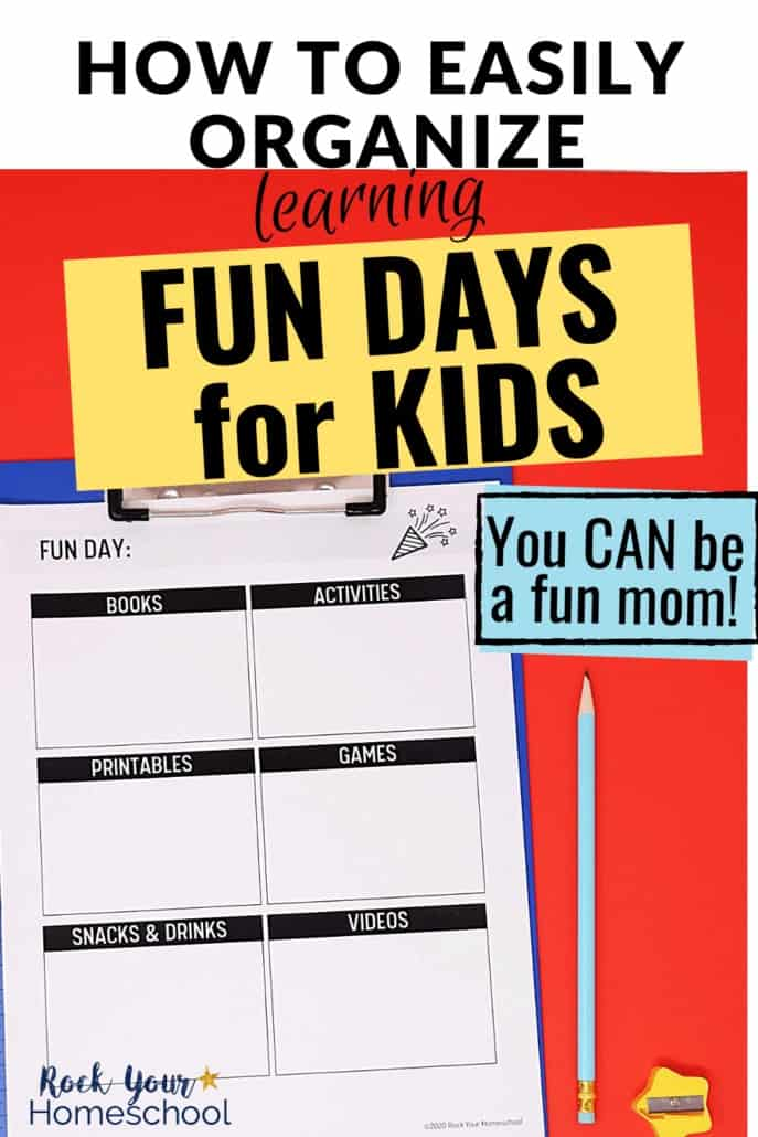 How to Easily Organize Learning Fun Days for Kids