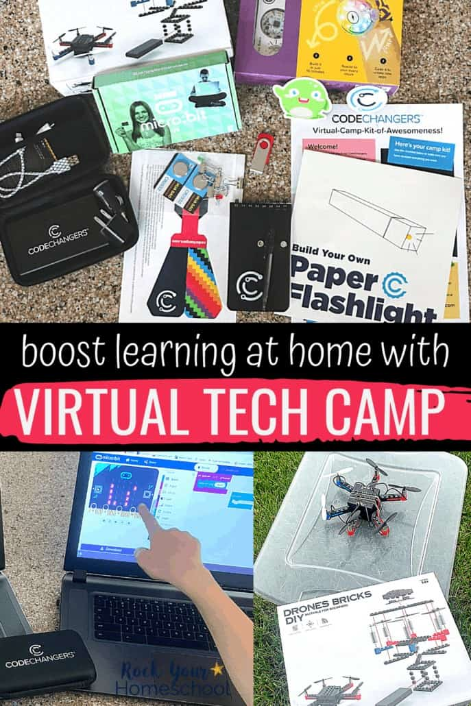 How to Boost Learning at Home with Virtual Tech Camp Experiences