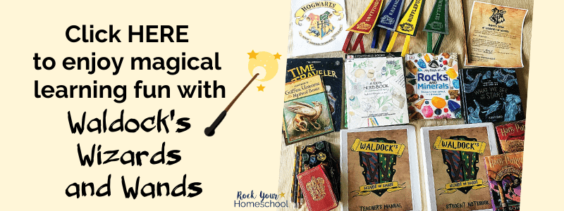 Enjoy magical learning fun with Waldock's Wizards and Wands, a Harry Potter-inspired unit study.
