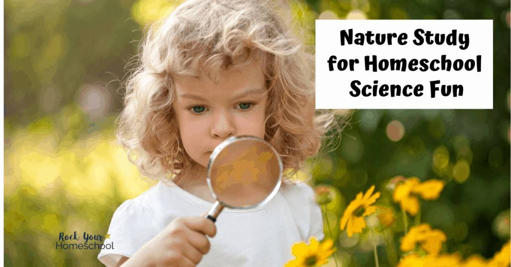 Find out how to add nature study to learning at home for ways to make homeschool science fun.