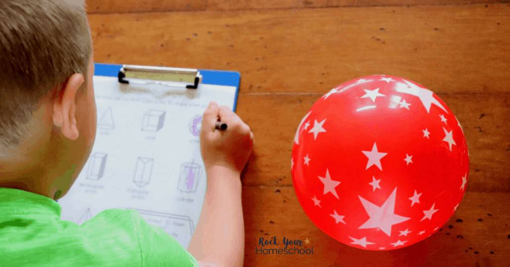 Your kids will have amazing learning fun using these free shapes scavenger hunts to find shapes in the world around us.