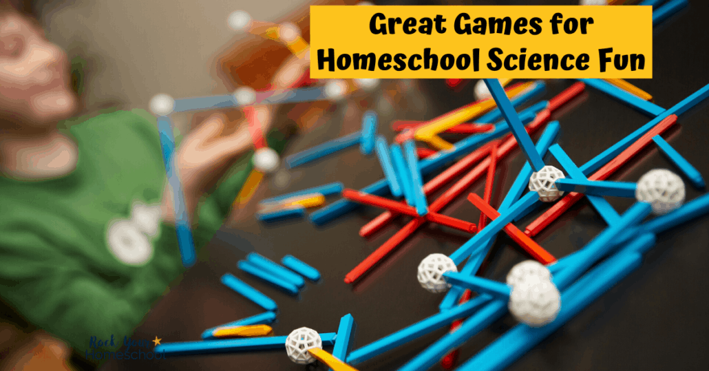 Discover how to use these wonderful ways to make homeschool science fun with games.