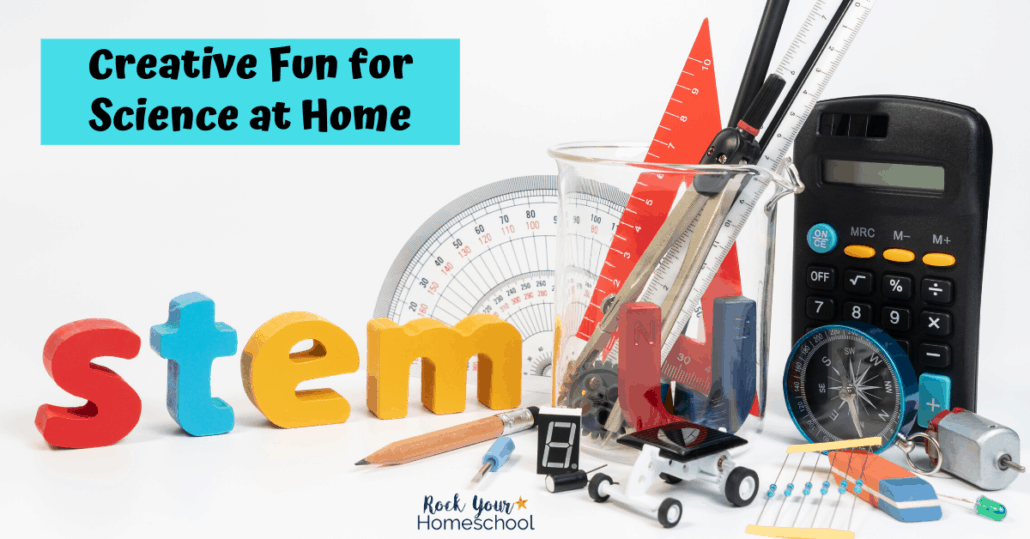 Find out how to add these creative fun activities for ways to make homeschool science fun.