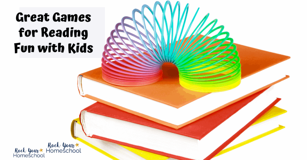Discover how to use these fun games to enjoy reading at home.