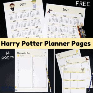 These free Harry Potter Planner Pages are brilliant for magical planning fun.