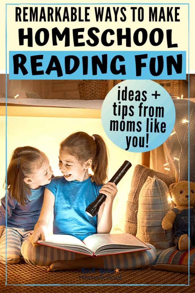 Remarkable Ways to Make Homeschool Reading Fun